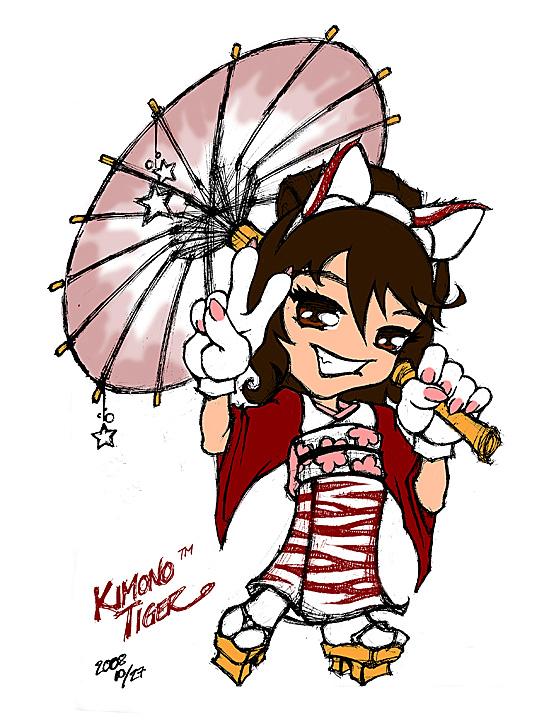 Kimono Tiger copy X